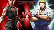 Heihachi Mishima vs. Geese Howard