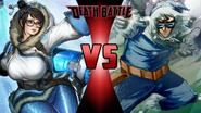 Mei vs. Captain Cold