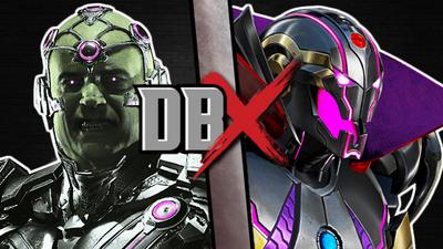 Brainiac vs Ultron Sigma
