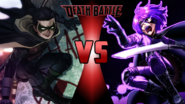 Robin vs. Hit-Girl