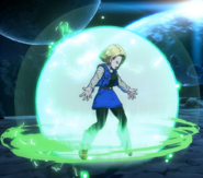 DBFZ Android18 Barrier