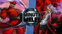 One Minute Melee M. Bison vs. God Rugal