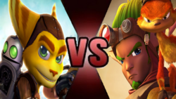 Ratchet Clank Jak Daxter Fake Thumbnail