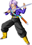 Future Trunks with his sweet jacket on