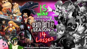 DB Season 2 Bets