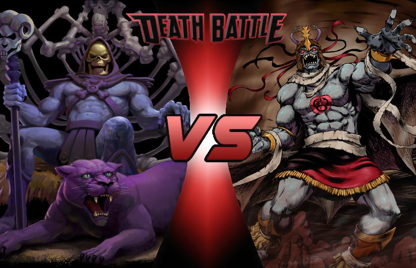 Image - Death Battle Thumbnail Version 2 - Skeletor VS ...
