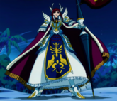 Fairy Tail - Erza Scarlet wearing Farewell Fairy Tail Armor