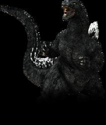 Godzilla the video game heisei godzilla by sonichedgehog2-d7u1aaa