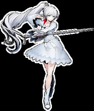 Weiss Schnee (BlazBlue Cross Tag Battle, Character Select Artwork)