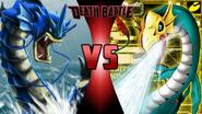 Gyarados vs. Seadramon