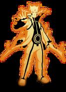 Naruto kurama mode render by xuzumaki-d5wlfdx
