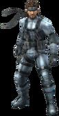 3D Solid Snake