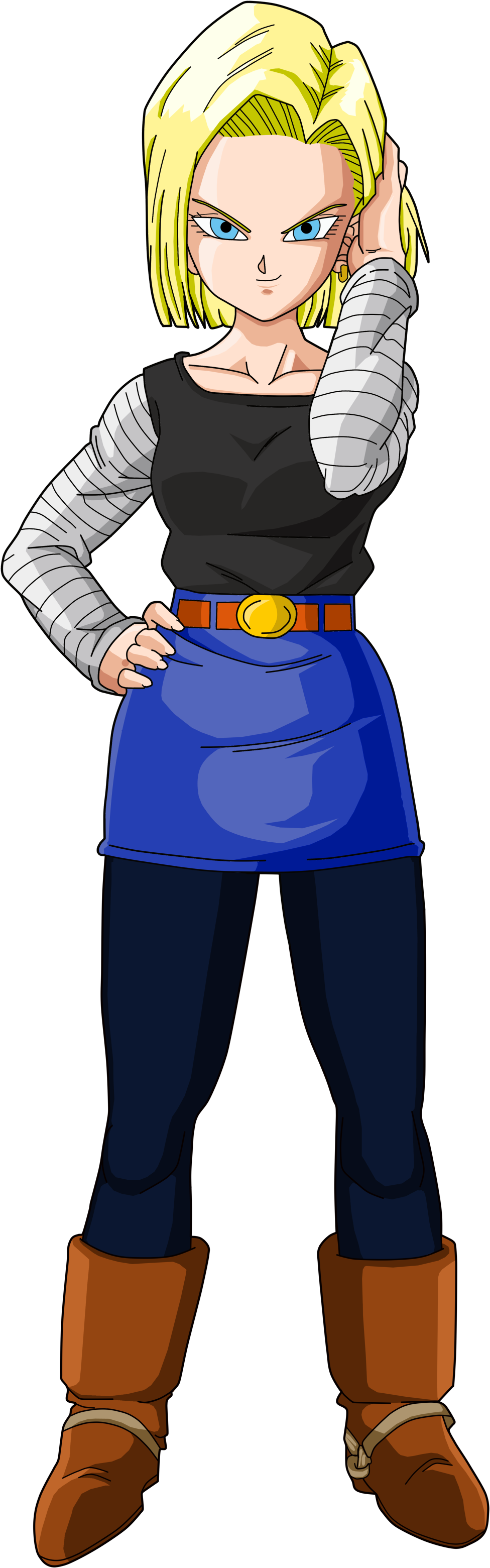 android 18 | death battle wiki | fandom poweredwikia