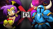 Half Genie VS Full Knight