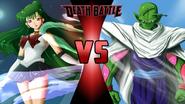Sailor Pluto vs. Piccolo
