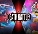 Optimus Prime VS Gundam