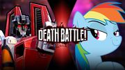 Starscream VS Rainbow Dash
