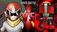 Proto Man (Mega Man) vs. Omega (Sonic the Hedgehog)