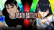 Death Battle Kevin Levin vs Satsuki Kiryuin