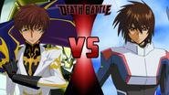 Suzaku Kururugi vs. Kira Yamato