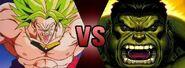 The Hulk VS The Broly