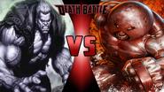 Solomon Grundy vs. Juggernaut