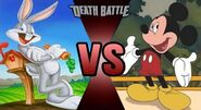 Bugs Bunny vs. Mickey Mouse