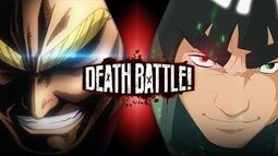 All Might vs Might Guy DEATH BATTLE( STRAIGHT TO THE FIGHT)-3