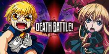 Death Battle Shinku vs Zatch Bell