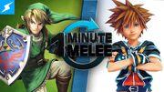 One Minute Melee Link vs. Sora