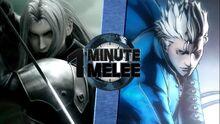 OMM Sephiroth VS Vergil Rematch