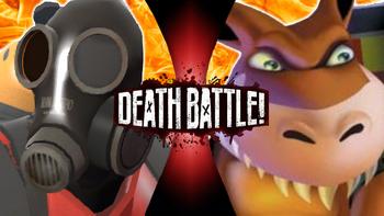 Pyro VS Dingodile