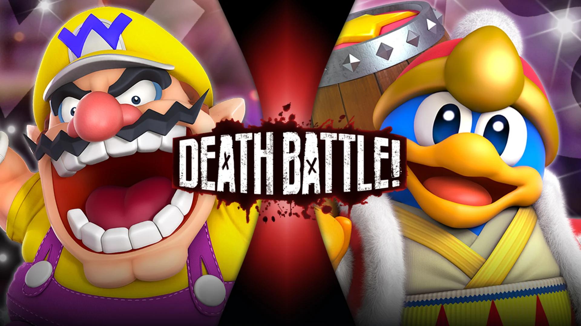 Wario Vs King Dedede Death Battle Wiki Fandom Powered By Wikia