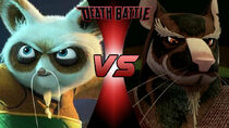 Shifu vs Splinter