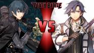 Byleth vs Rean Schwarzer