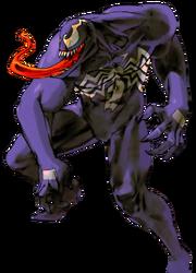 Marvel Comics - Venom as seen in Marvel VS Capcom 2