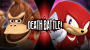 Donkey Kong VS Knuckles