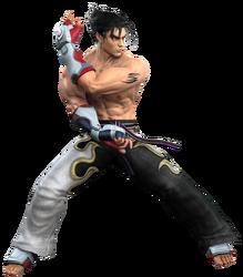 Jin kazama tekken 5 by blood huntress-d29btll