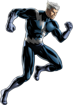 Quicksilver, the son of Magneto