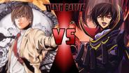 Light Yagami vs. Lelouch vi Britannia