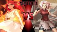 Morgiana vs. Sakura Haruno