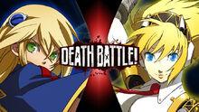 Death Battle Noel vs Aigis