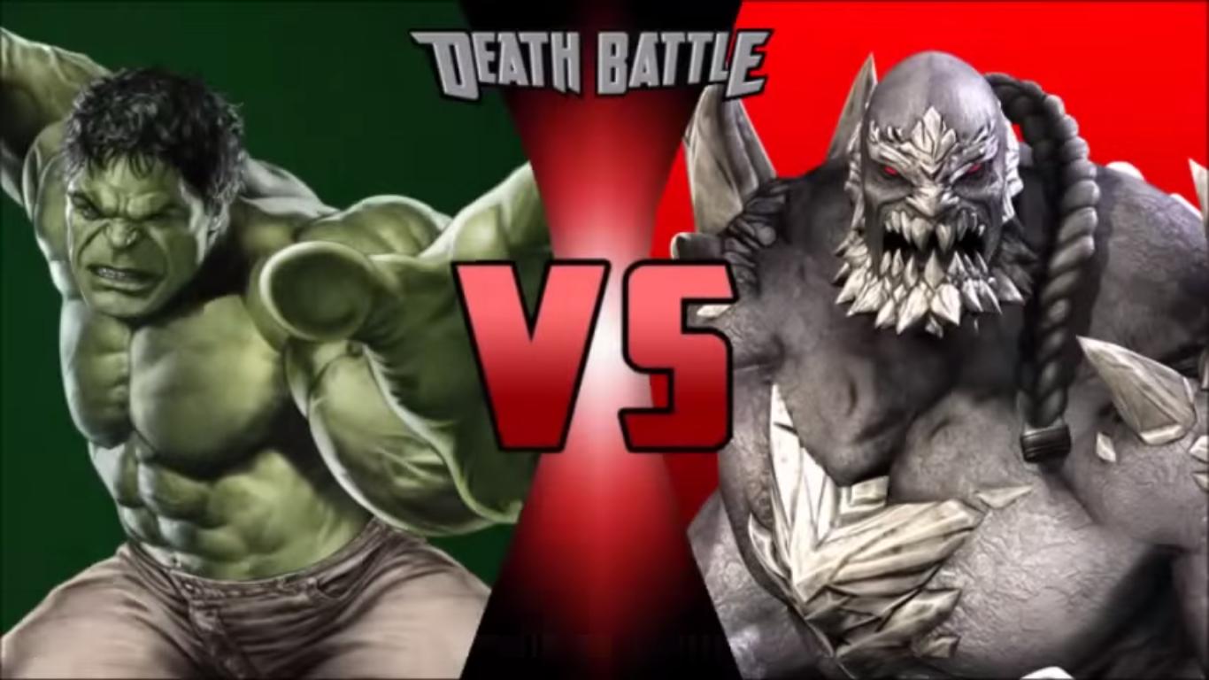 Image - Hulk vs doomsday.png | DEATH BATTLE Wiki | FANDOM ... Doomsday Vs Hulk Death Battle