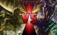 King Ghidorah vs. Zetton