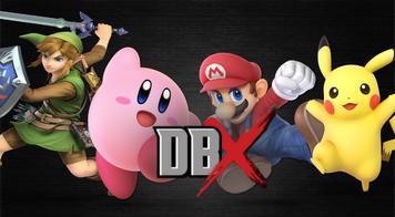 Link Mario Kirby Pikachu Battle Royale DBX