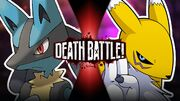 Lucario VS Renamon Official