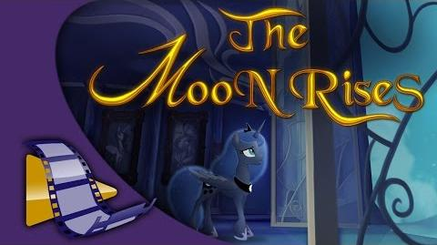 The Moon Rises. Animation
