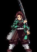 Tanjirou anime design