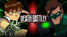 (F) Ben 10 VS Green Lantern