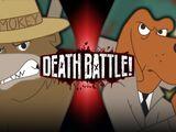 Smokey Bear VS McGruff the Crime Dog